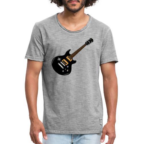 Guitar - Männer Vintage T-Shirt