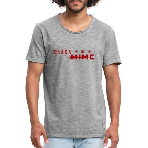 Osaka Mime Logo - Men's Vintage T-Shirt