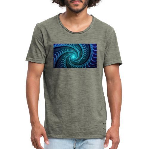 Spiraali - Miesten vintage t-paita