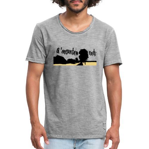 qmountain 02 - Männer Vintage T-Shirt