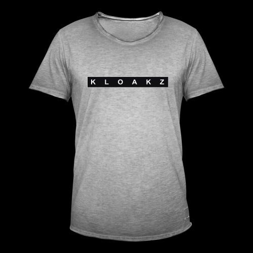 KloakZ Merch - Men's Vintage T-Shirt