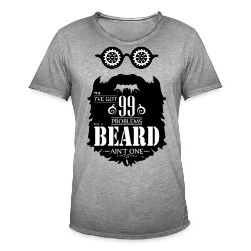 99 Problems Beard - Miesten vintage t-paita