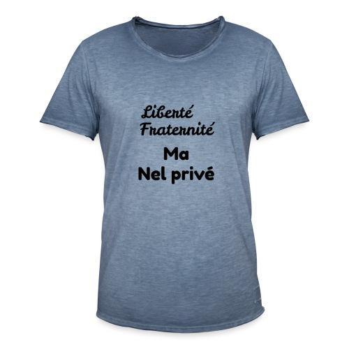 Libertè - Maglietta vintage da uomo