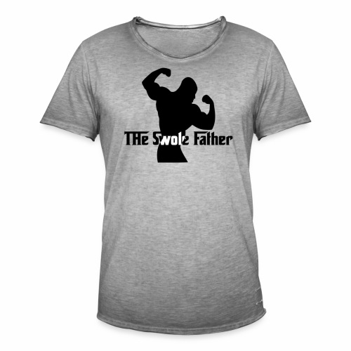 The Swole Father - Vintage-T-shirt herr