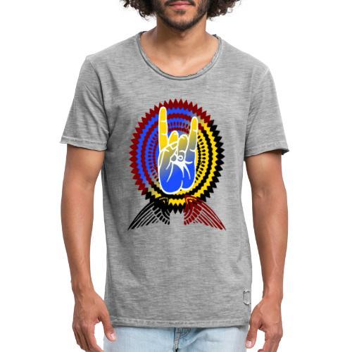 Rock it - Männer Vintage T-Shirt