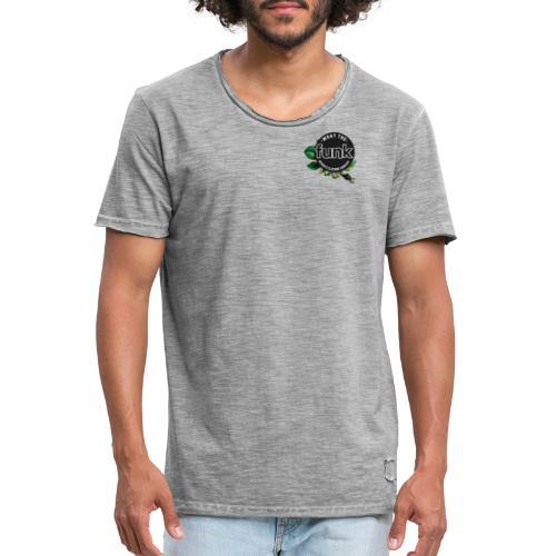 WTFunk - ROSES LOGO- Summer/Fall 2018 - Männer Vintage T-Shirt