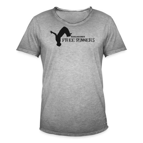 FREERUN - Mannen Vintage T-shirt