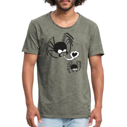 Dangerous Spider Love - Men's Vintage T-Shirt