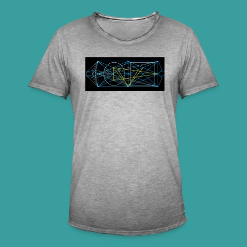 simmetria intelletuale - Maglietta vintage da uomo