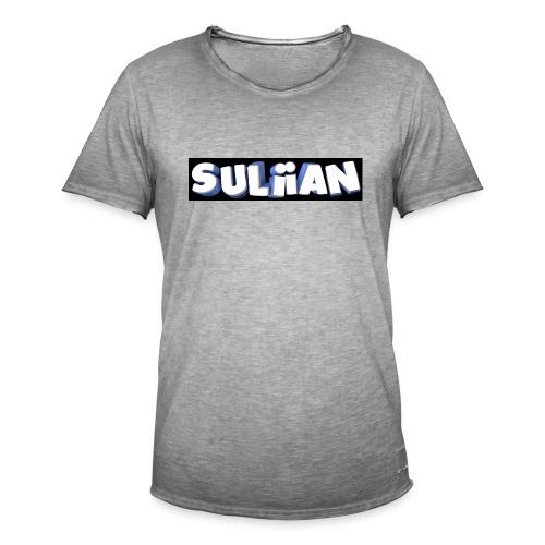 Suliian -Schrift 1 - Männer Vintage T-Shirt