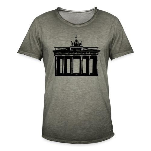 Brandenburger Tor - Männer Vintage T-Shirt