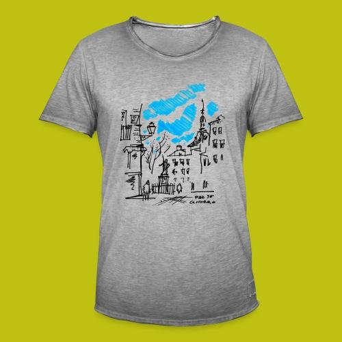 Plaza de Cascorro - Camiseta vintage hombre