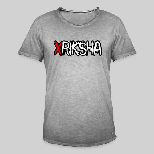 xRiksha - Miesten vintage t-paita