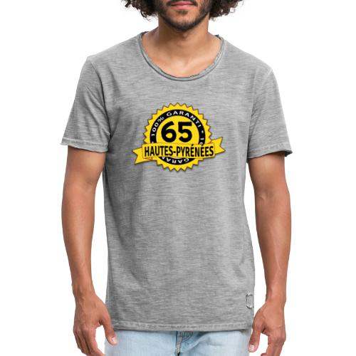 65 Hautes-Pyrénées - T-shirt vintage Homme