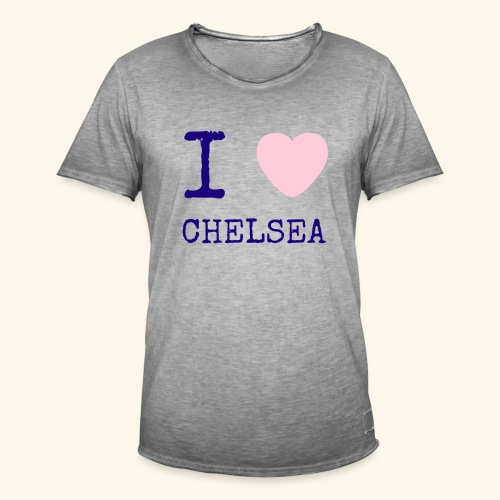 I Love Chelsea 2017 - Men's Vintage T-Shirt