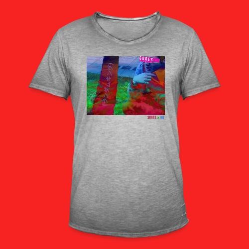 SURES x HU - Men's Vintage T-Shirt