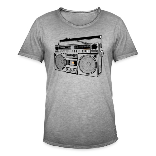 Boombox - Men's Vintage T-Shirt