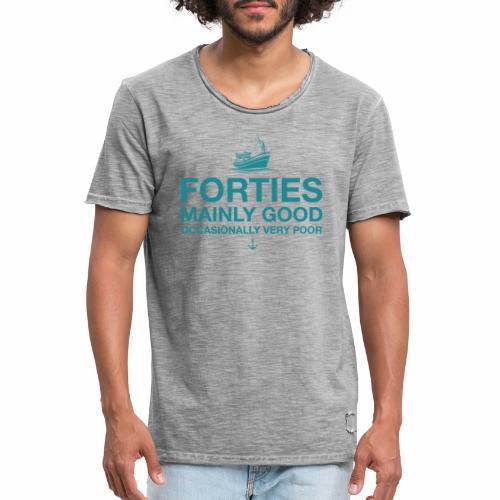 Forties - Men's Vintage T-Shirt