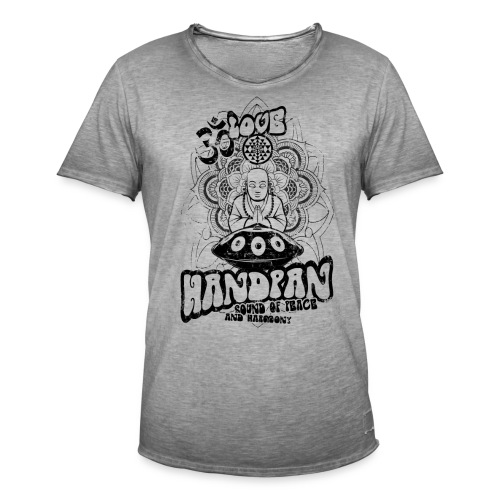 Handpan - Männer Vintage T-Shirt