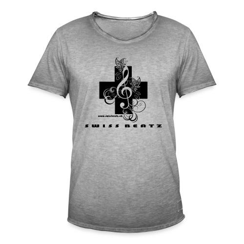 Swiss Beatz Logo with L - Männer Vintage T-Shirt