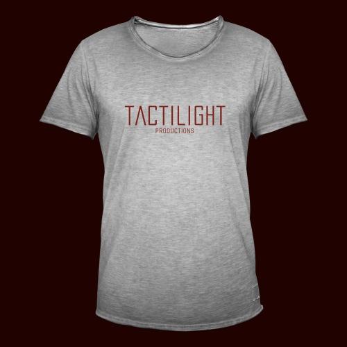 TACTILIGHT - Men's Vintage T-Shirt