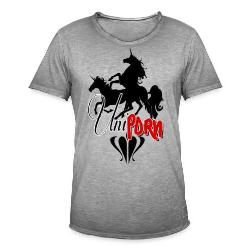 Uniporn - Männer Vintage T-Shirt