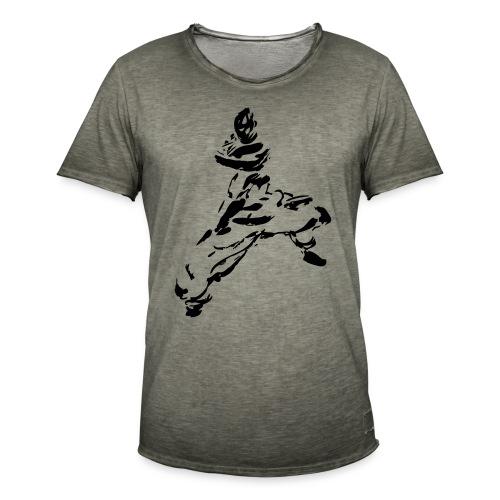 kungfu - Men's Vintage T-Shirt