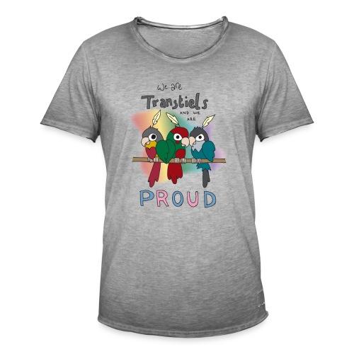 Transtiels and Proud - Men's Vintage T-Shirt