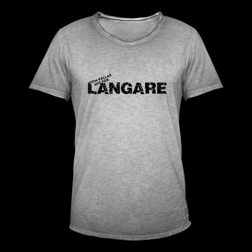 LANGARE - Vintage-T-shirt herr