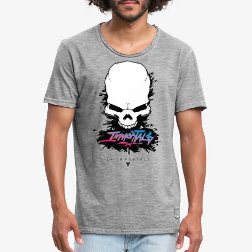 ZF Immortals Skull - Men's Vintage T-Shirt