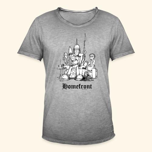 Homefront Heimatfront Waffen Mama Muttersöhnchen - Männer Vintage T-Shirt