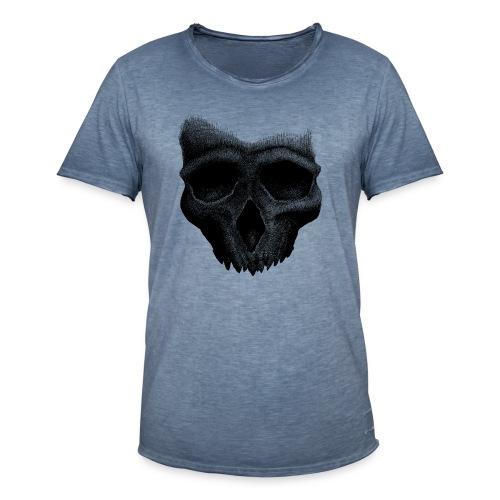 Simple Skull - T-shirt vintage Homme