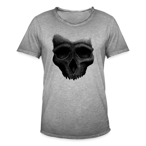 Simple Skull - T-shirt vintage Homme