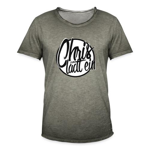Chris lädt ein - Männer Vintage T-Shirt