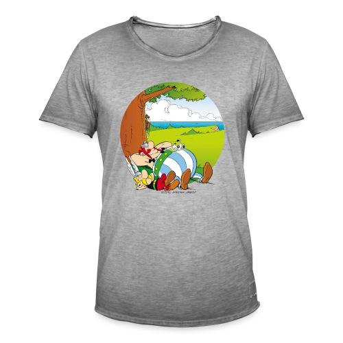 Astérix & Obélix Font Une Sieste - T-shirt vintage Homme