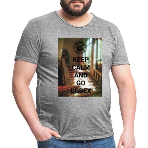 URBEX Salzburg KEEP Calm - Männer Vintage T-Shirt