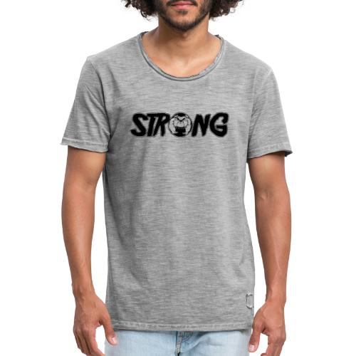 Strong dogs - T-shirt vintage Homme