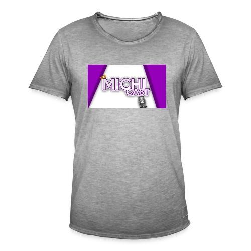 Camisa MichiCast - Men's Vintage T-Shirt