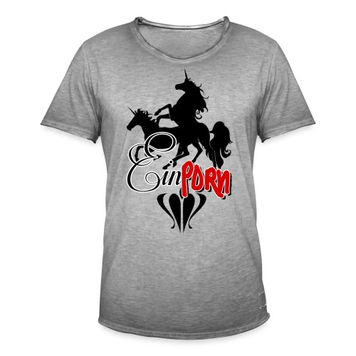 Einporn - Männer Vintage T-Shirt