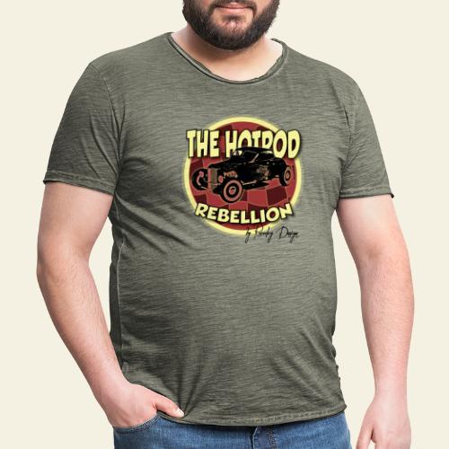 hotrod rebellion - Herre vintage T-shirt