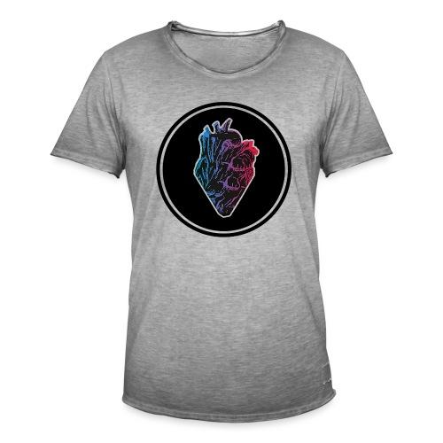 Pulsation Shirt - Männer Vintage T-Shirt
