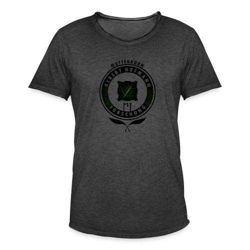AlbertHofmann_Forschung - Männer Vintage T-Shirt
