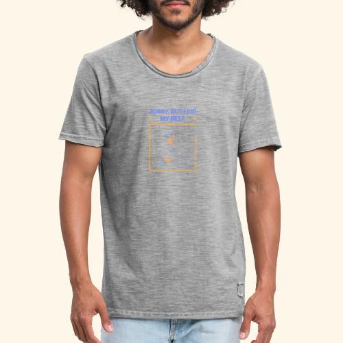 Patins à roulettes - T-shirt vintage Homme