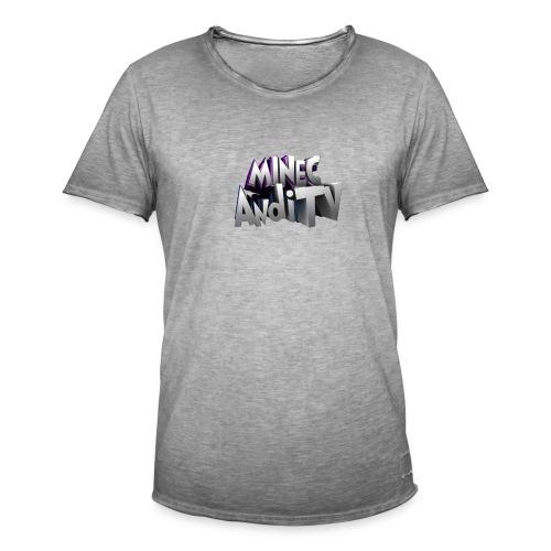 MinecAndiTV - Männer Vintage T-Shirt