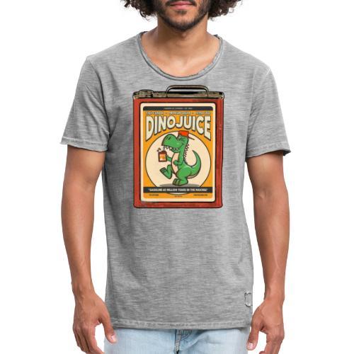Dinojuice gas canister - Miesten vintage t-paita