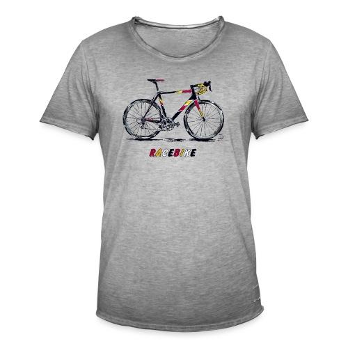 RACEBIKE - Männer Vintage T-Shirt