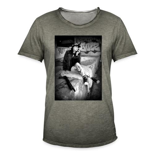 HELLSTARZ LILLIE I - T-shirt vintage Homme