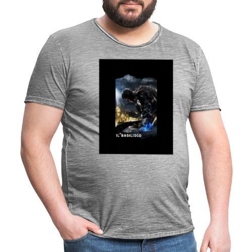T-shirt del Basilisco - Maglietta vintage da uomo