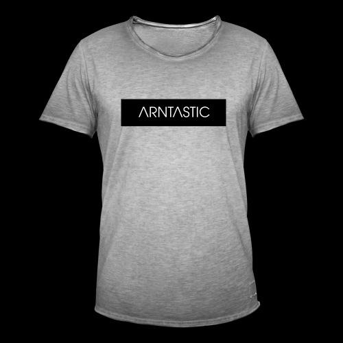 ARNTASTIC balken schwarz - Männer Vintage T-Shirt