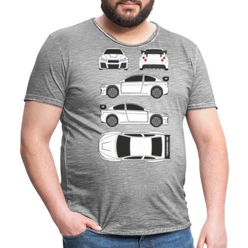 DR!FT Scetch - Männer Vintage T-Shirt